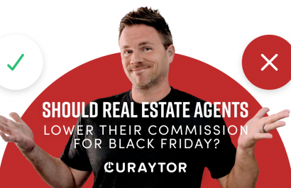 Should real estate agents lower their commission for Black Friday?