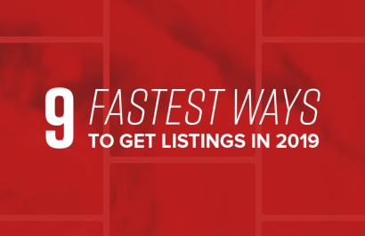 The 9 Fastest Ways to Get Listings in 2019