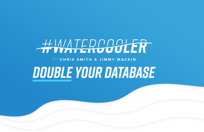 #WaterCooler: Double Your Database