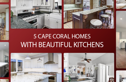 5 Cape Coral Homes With Beautiful Kitchens Under $400K