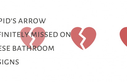 Cupid's Arrow Definitely Missed On These Bathroom Designs