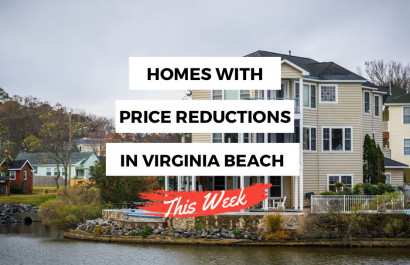 Virginia Beach Homes with Recent Price Reductions!
