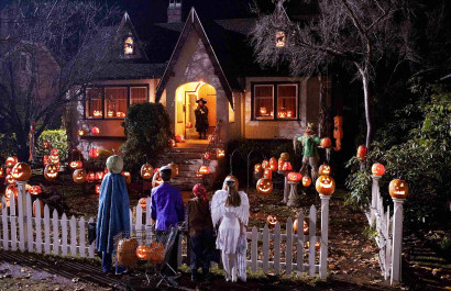 Top Ten Neighborhoods to Trick or Treat in OKC
