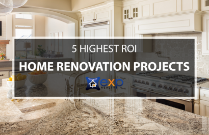 5 Highest ROI Home Renovation Projects