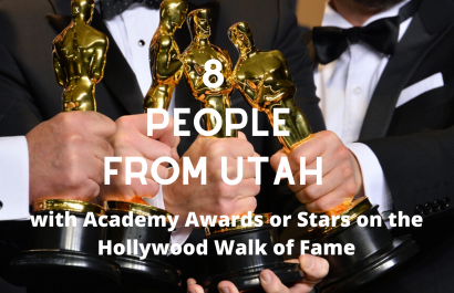 8 People from Utah with Academy Awards or Stars on the Hollywood Walk of Fame