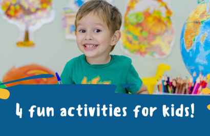 4 Fun Activities for Kids