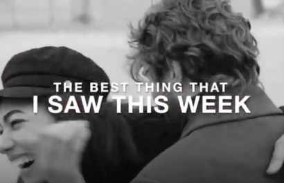 Video: The Best Thing That I Saw This Week