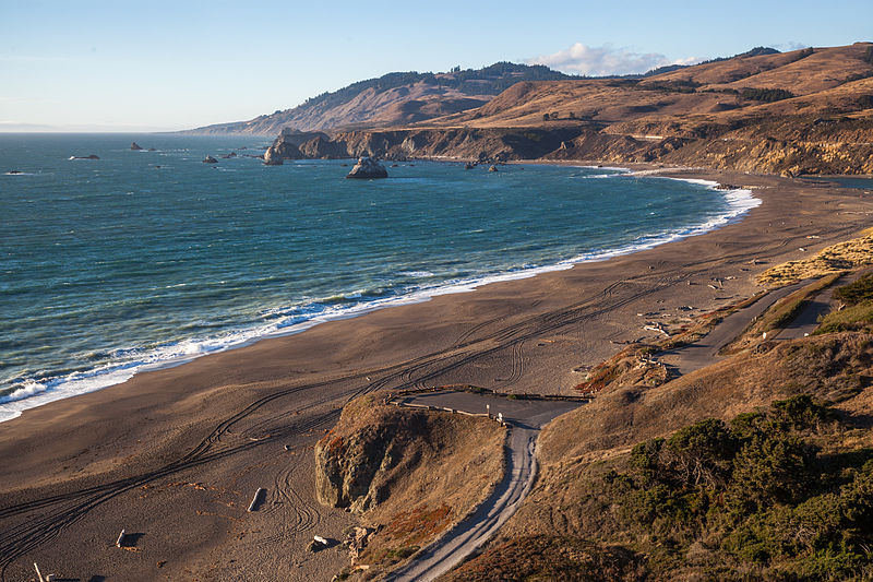 Goat Rock Beach by John Uhrig from Davis