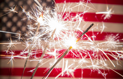 Fireworks and Parades- Have a Happy & Safe Fourth of July!