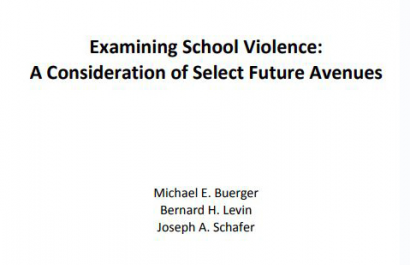 White Paper: 2018 Future of School Violence