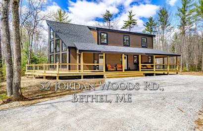 52 Jordan Woods Rd | Bethel, ME | $695K