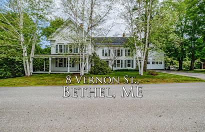 8 Vernon St| Bethel, ME | $490K