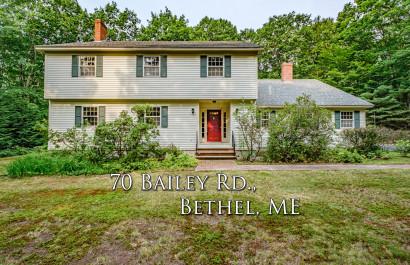 70 Bailey Rd | Bethel, ME | $500K