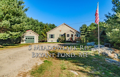 5 Meadowlark Rd | Bryant Pond, ME | $265K