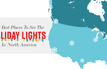 The Best Places To See The Holiday Lights in Colorado Springs and North America