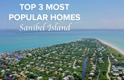 Top 3 Most Popular Homes For Sale on Sanibel Island