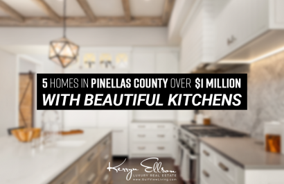 5 Homes in Pinellas County With Beautiful Kitchens Under $1 Million
