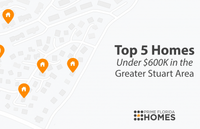 Top 5 Homes Under $600K in the Greater Stuart Area