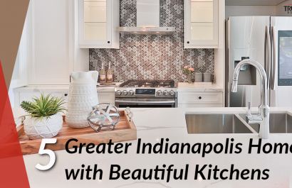 5 Greater Indianapolis Homes With Beautiful Kitchens Between $200K-$450K