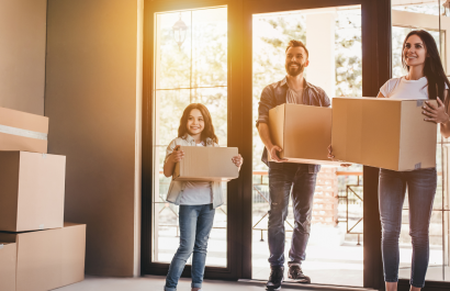 Nine Important Tips When Moving into a New Home