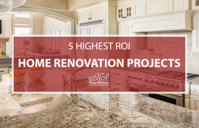5 Highest ROI Home Remodel Projects