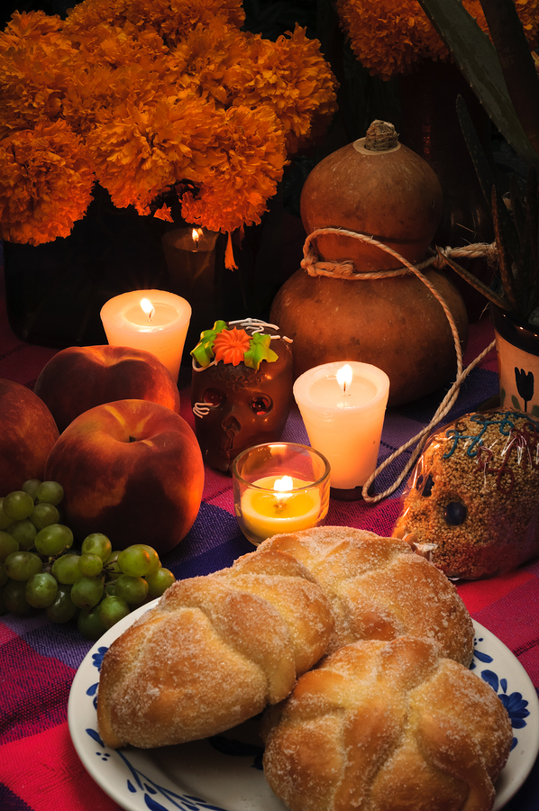 Celebrate day of the dead on Santa Barbara real estate.