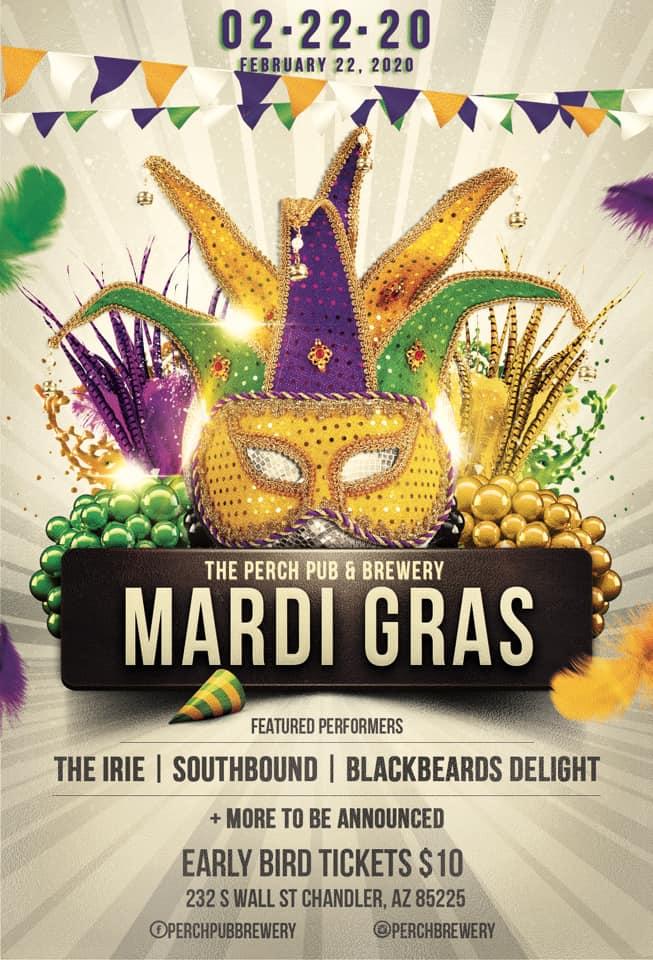 Mardi Gras - The Perch