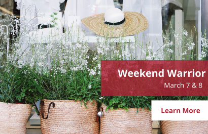 Weekend Warrior - March 7-8 | Amy Jones Group