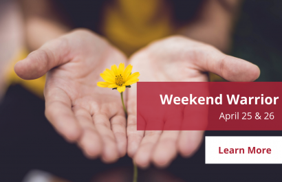 Weekend Warrior - April 25-26 | Amy Jones Group