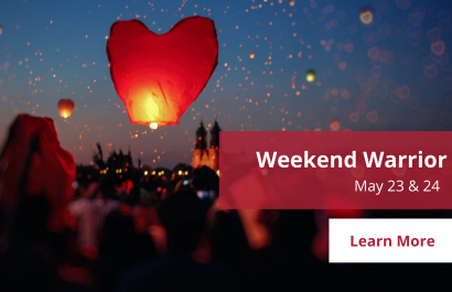 Weekend Warrior - May 23-24 | Amy Jones Group