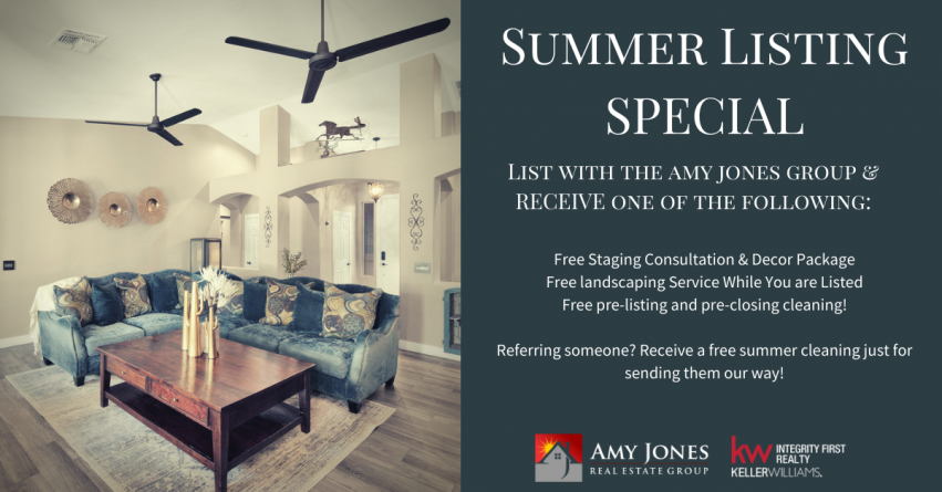 Summer Listing Special