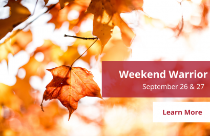 Weekend Warrior - September-26-27 | Amy Jones Group