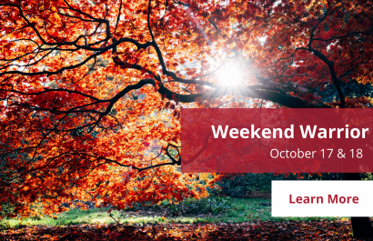 Weekend Warrior - October 17-18 | Amy Jones Group