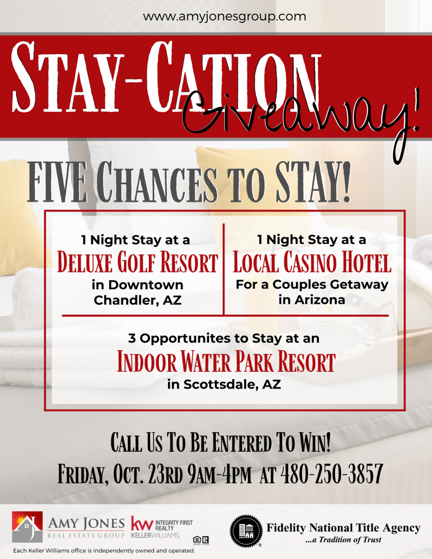 Stay-cation Giveaway