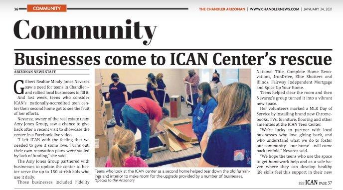 The Chandler Arizonan - ICAN Teen Center