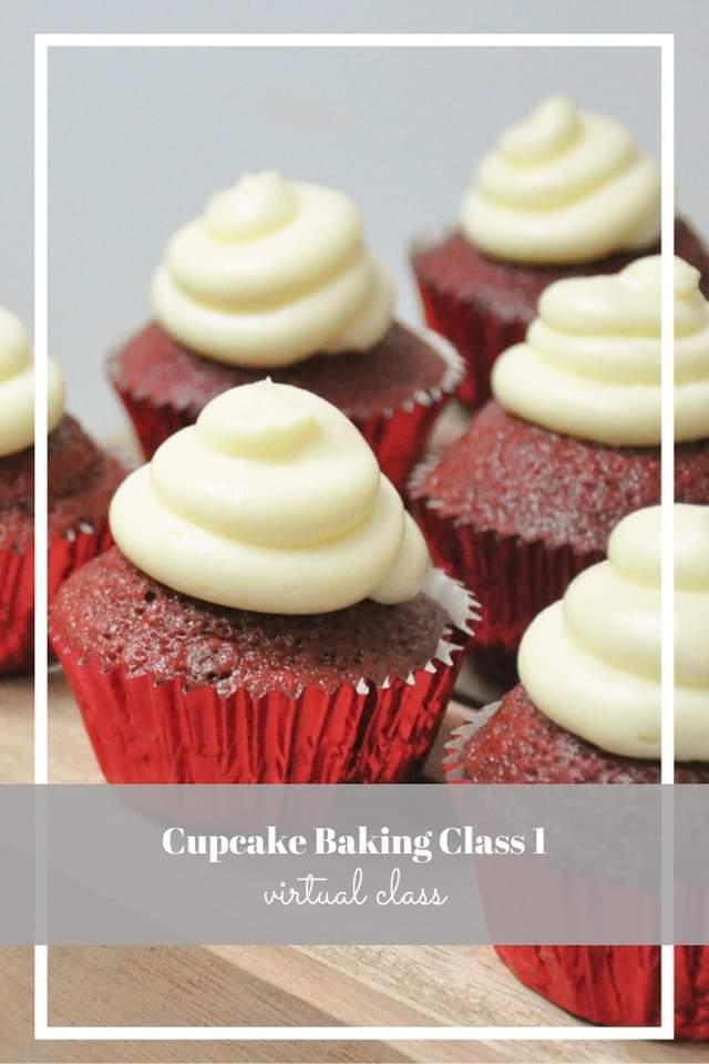 Cupcake Baking Class - Online