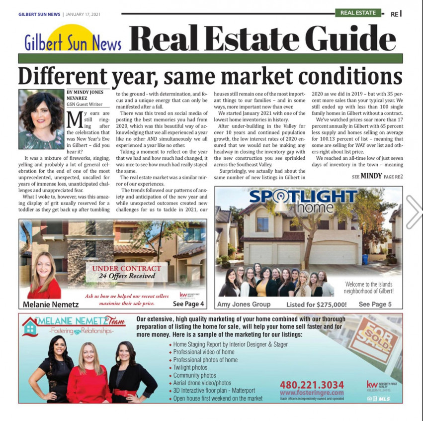 Gilbert Sun News - Real Estate Edition