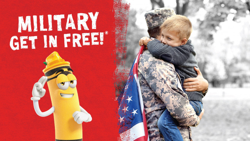Military Get In Free
