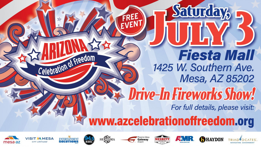 Drive-in Fireworkds Show