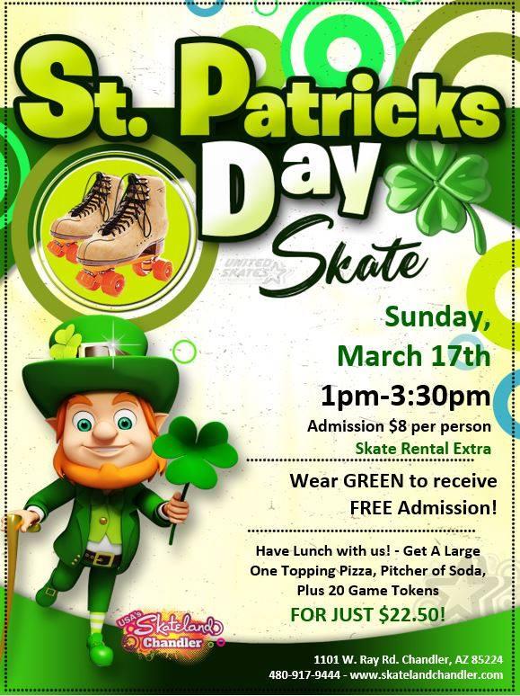 St. Patrick's Day Skate