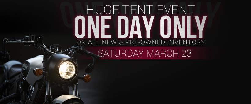 Huge Tent Event!