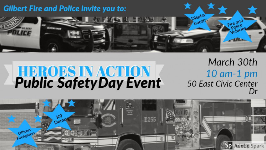 Public Safety Day Event