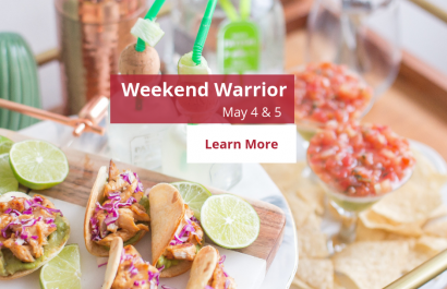 Weekend Warriors - May 4 & 5 | Amy Jones Group
