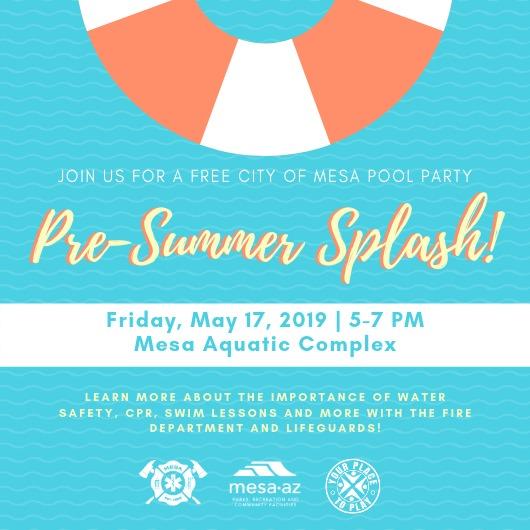 Mesa Pool Party