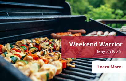 Weekend Warriors - May 25 & 26 | Amy Jones Group