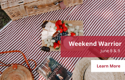 Weekend Warrior - June 8 - 9 | Amy Jones Group