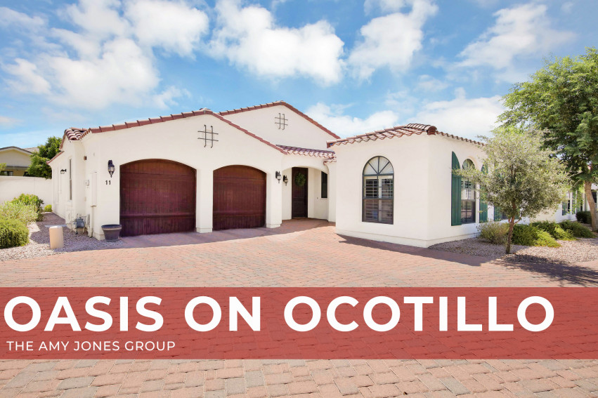 OPEN HOUSE - 1777 W Ocotillo RD, #11- Villas at Ocotillo | Amy Jones Group