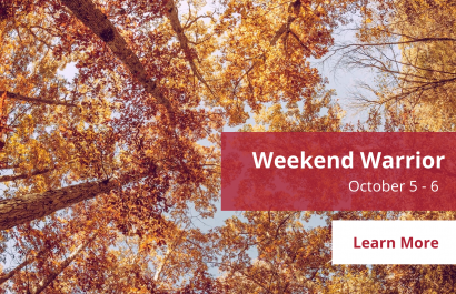 Weekend Warrior - October 5 - 6 | Amy Jones Group