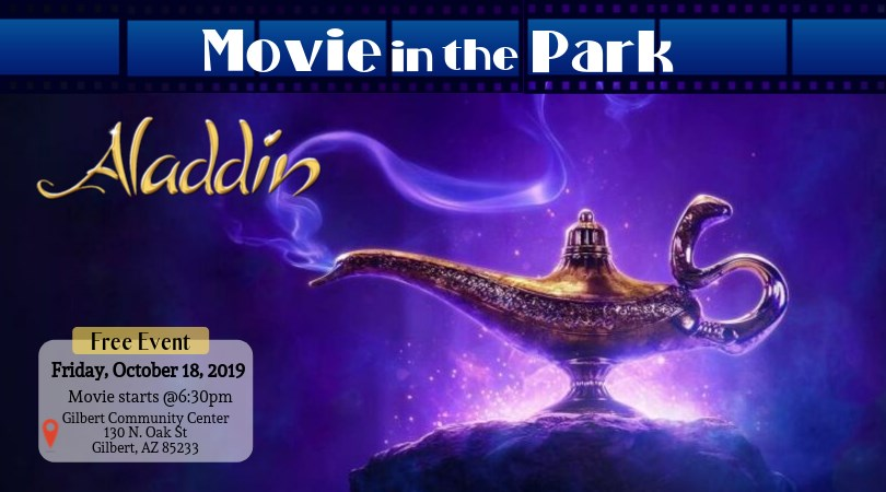 FREE Movie in The Park - Aladdin