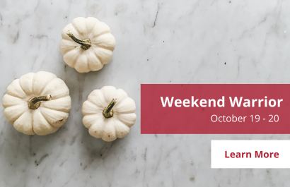 Weekend Warrior - October 19 - 20 | Amy Jones Group